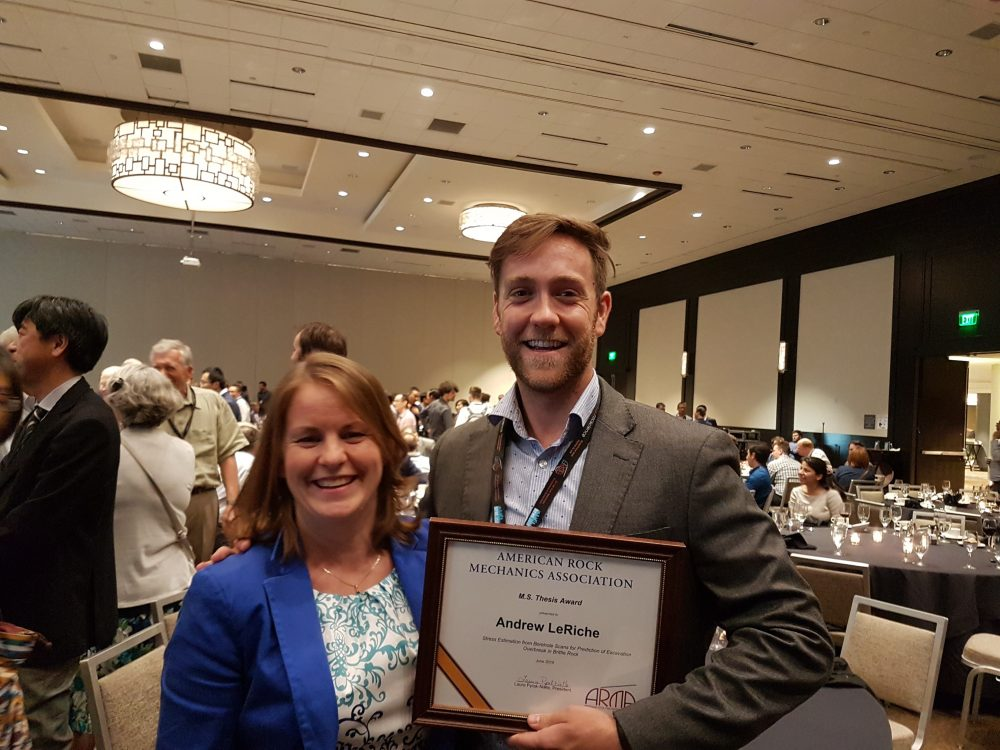 Congratulations to Our Employees for their Accomplishments at ARMA 2018