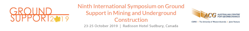 Dr. Luis Mejía is Presenting a Paper at Ground Support 2019, ACG's Ninth International on Ground Support in Mining and Underground Construction